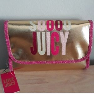 Juicy couture hanging cosmetic organizer